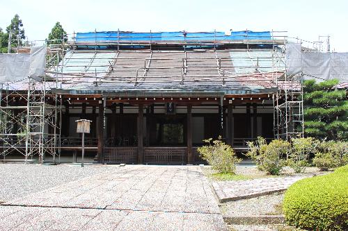 苔寺西芳寺本堂
