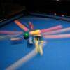 ブレイク画像法:ビリヤード:9オンフットブレイクの攻略法